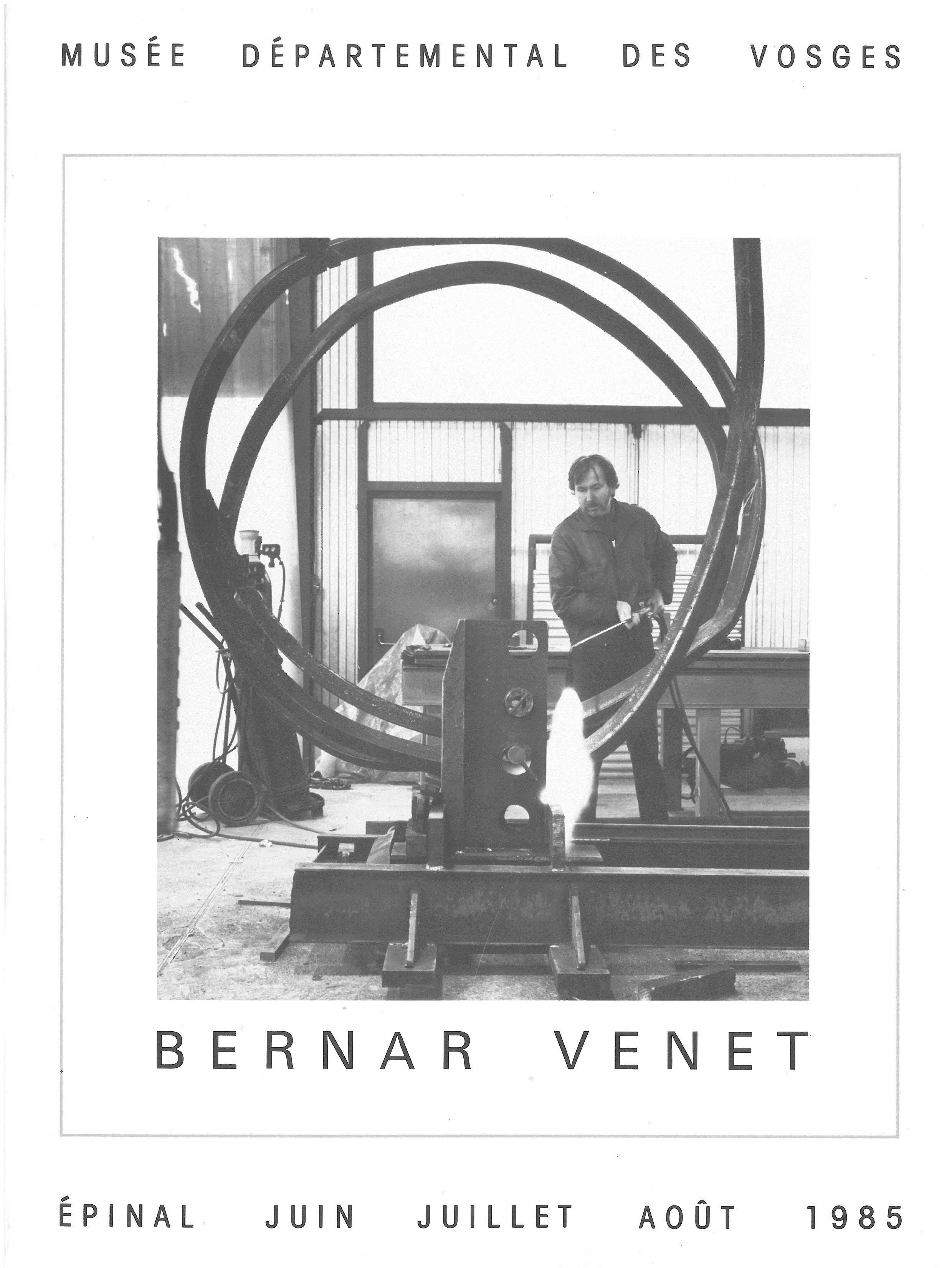Bernard Venet 1985