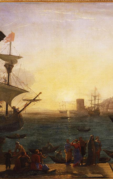 L'embarquement de sainte Paule à Ostie